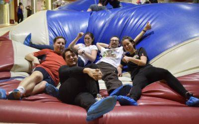 Teambuilding v Bruno parku – aneb míříme vysoko